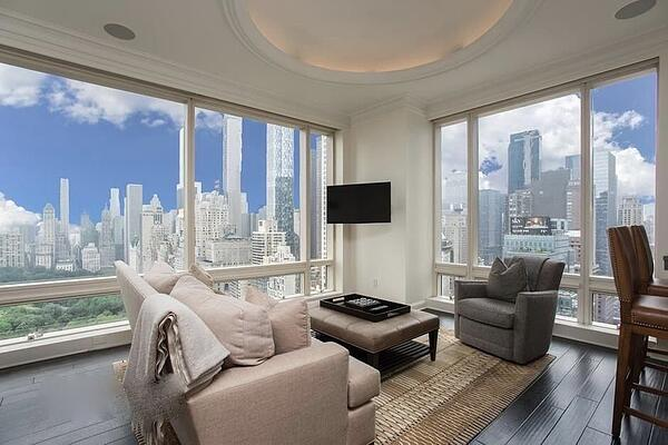 Preços de imóveis em Manhattan para 1 Central Park West