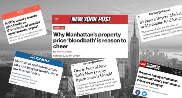 Preços de Manhattan Condo Desaceleração do Mercado