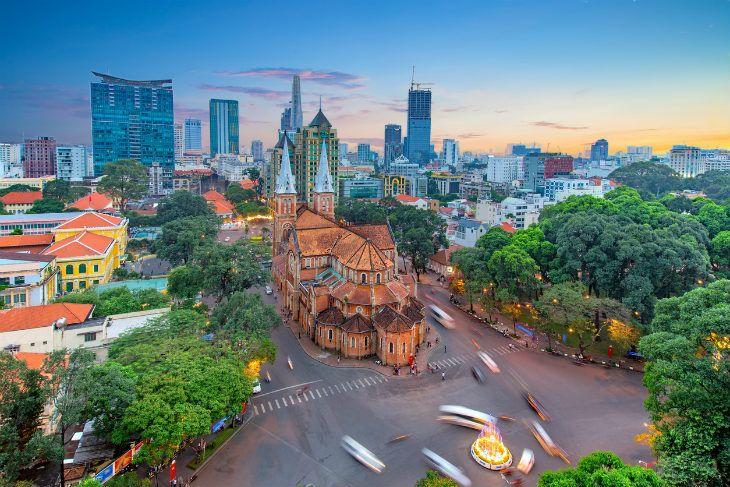 Cidade de Saigon Ho Chi Minh